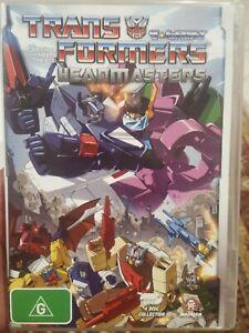 TRANSFORMERS HEADMASTERS DVD G1 GENERATION ONE RARE JAPANESE BOX SET ANIMATION