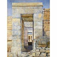 Newman East Entrance Isis Temple Philae Egypt Painting Extra Large Art Poster