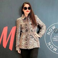 DONNA RAE New York Leopard Women Blazer Size M Jacket