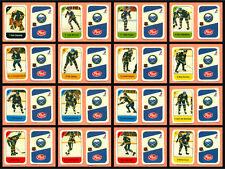 1982-83 Post Cereal Buffalo Sabres Don Edwards NHL Hockey Mini Card Set of 16