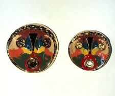 """45 mm 1 3/4 """" inch Golden Face BIG BUTTON Picasso FOR SABLE FOX MINK FUR COAT"""