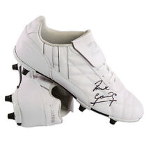 Paul Gascoigne Signed Patrick Football Boot - White Autograph Cleat