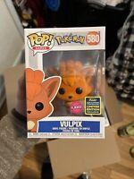 Funko Pop POKEMON Vulpix [Flocked] (SDCC Exclusive)