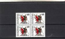 Germany/West - Sg1910 Mnh 1979 Doctor Johannes Faust - Blocks Of 4