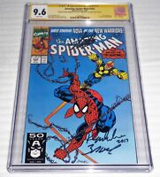 Amazing Spider-Man #352 3x CGC SS Signature Autograph STAN LEE BAGLEY Nova App