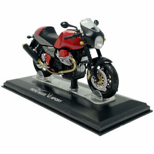 1:24 Moto Guzzi V11 Sport Motorcycle Model Diecast Bike Model Collection Red