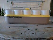 Salton Yogurt Maker Thermostat Controlled GM-5 1980