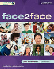 face2face Upper Intermediate Student's Book with CD-ROM/Audio CD, Cunningham, Gi