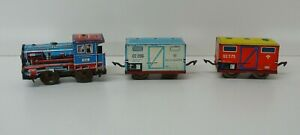 Technofix 289 Shunting Train Wind Up/Tin Plate Vintage Toy