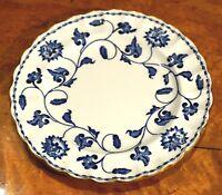 Beautiful Spode Colonel Blue Bread Plate