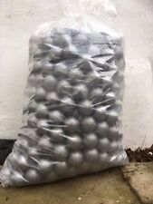 500 BRAND NEW SOFT PLAY BALLS -BALL PIT, POOL , COMMERCIAL GRADE CE - SILVER