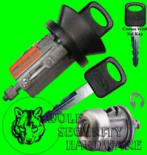 Ford Ignition Key Switch Lock Cylinder & Single Door Tumbler Barrel Set 3 Keys