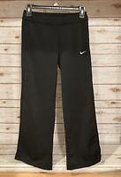 Girls Nike Dri-Fit Black Pink Athletic  Pants Medium 10-12