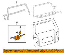 TOYOTA OEM Sequoia Liftgate Tail Tailgate Trunk-Window Lift Regulator 698500C090