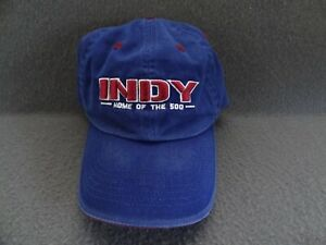 Indy 500 Brickyard Top of the World Authentic Cap Hat VTG Home Blue IMS Racing