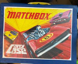 Matchbox Superfast Original Sammelkoffer  mit 4 Körben Made In England Ohne Inh.