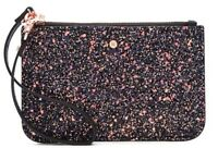 MIMCO Pouch Small Black Glitz Strap Wallet Purse Bag Clutch BNWT  RRP $60 Tags