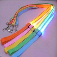 Nylon Pet 120cm LED Dog Leash Night Safety Flashing Glow LED Pet Supplies Cat
