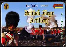 Strelets Models 1/72 CRIMEAN WAR BRITISH SIEGE ARTILLERY Figure Set