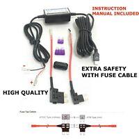 Universal Dash Cam MINI USB Input Hardwire Hard Wire Kit UK