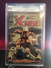 X-MEN #19 CGC 8.0 1ST FIRST APPEARANCE & ORIGIN OF THE MIMIC (CALVIN RANKIN)