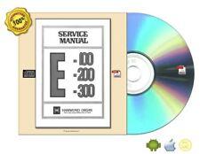 Hammond E-100, 200, 300 Service Manual Plus Digitized