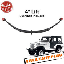 """Pro Comp 51412 Front 4"""" Lifted Leaf Spring for 1976-1986 Jeep CJ5 / CJ7"""