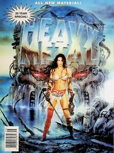 Heavy Metal Magazine December 16 1997 20 Year Special All New Material