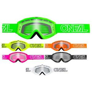 O'Neal B-Zero Goggle Moto Cross MX Brille Downhill DH Motorrad Mountainbike MTB