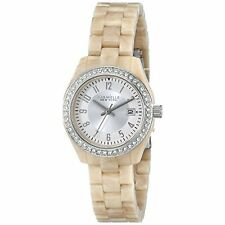 Caravelle New York Women's 43M109 Crystal-Accented Stainless Steel Watch