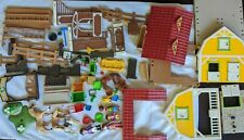 Playmobil Farm Horse Rider Stable Parts Figures and Animals Lot