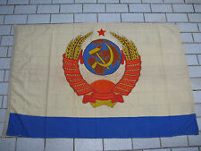 CCCP rare GRAND drapeau navale COMMANDANT EN CHEF Marine Soviétique URSS USSR