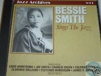 CD JAZZ ARCHIVES 061 BESSIE SMITH SINGS THE JAZZ