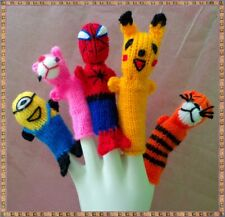 LOT 1,000 PERU WOOL FINGER PUPPETS HANDKNITTED COLLECTABLES CUSCO FREE SHIPPING!