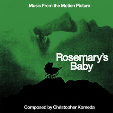 ROSEMARY'S BABY Christopher Komeda CD Soundtrack Score LA-LA LAND Ltd Ed NEW!