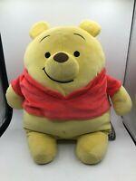 Winnie The Pooh Mocchi Mocchi Tomy Disney Plush Soft Stuffed Toy Animal Bear