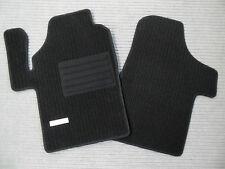 Rips Fußmatten für Mercedes Benz Viano Vito W639 3-tlg. + Schwarz + EMBLEM + NEU
