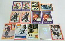 Lot of 13 Wayne Gretzky Collectibles: NHL Pro Set, Score, Topps, Upper Deck
