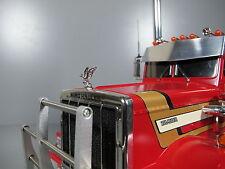 Front Upper Hood Grill Ornament emblem Eagle Tamiya 1/14 Semi King Hauler Truck