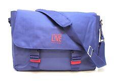 LACOSTE LIVE Parfums Blu Messenger/Spalla/Borsa per Laptop/Carrier