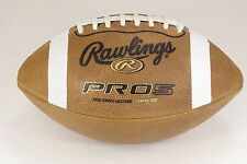 RAWLINGS PRO5YB Youth Leather Football QB05 (50% OFF) For ages 12-14   FREE SHIP