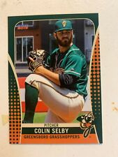 Colin Selby 2019 Greensboro Grasshoppers Team Card