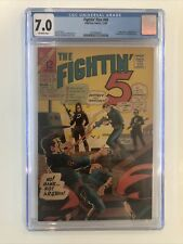 Fightin' Five #40 CGC 7.0 first appearance of Peacemaker JOHN CENA