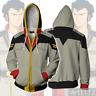 Anime Gundam Earth Federation Space Force Hoodie Long Sleeve Cosplay Coat#R1444