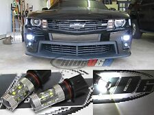 White Cree LED PSX26W Light Bulbs 100W For Late 2012 Mid 2013 Camaro RS/SS/ZL1