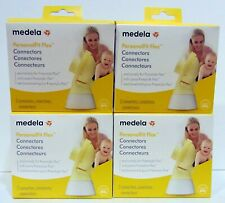 New listing Lot 4 Sealed Boxes Medela PersonalFit Flex 8 Pieces Spare/Replacement Connectors
