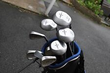Mizuno WIDEC Golf Clubs Half Set Woods 3-Iron 4-Iron 9-Iron SW Putter + Bag RH