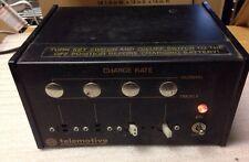 Telemotive E1012-3, E10123, 6V, Bettery Charger, SHIPSAMEDAY#140L