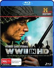 WWII Lost Films - WWII In HD (Blu-ray, 2010, 2-Disc Set) New  Region B