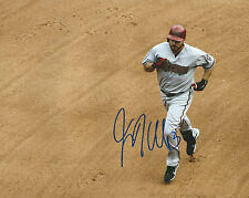 **GFA Arizona Diamondbacks *JASON KUBEL* Signed 8x10 Photo K2 COA**